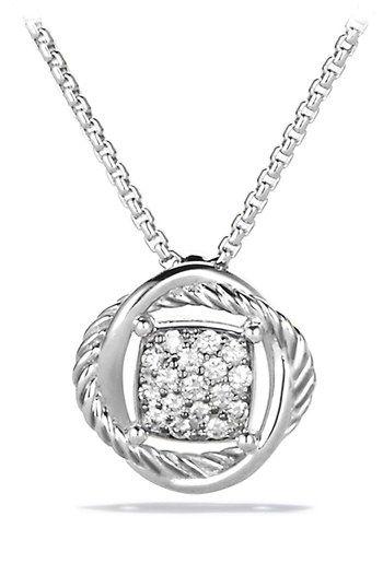 david yurman 39 infinity 39 pendant with diamonds on chain