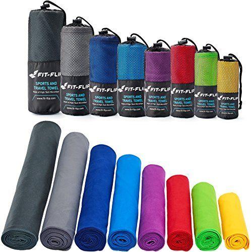 Mikrofaser Handtucher In Allen Grossen 12 Farben Klein Leicht