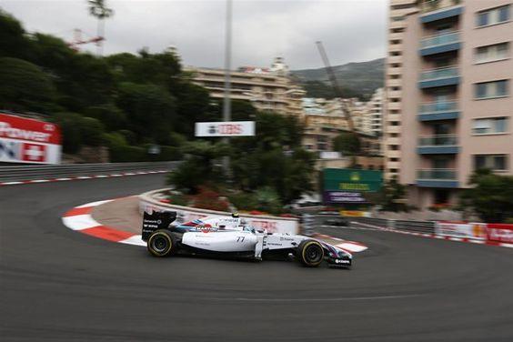 Valtteri Bottas Williams F1 Team Monaco GP 2014