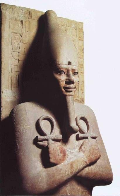 Senwosret I as Osiris