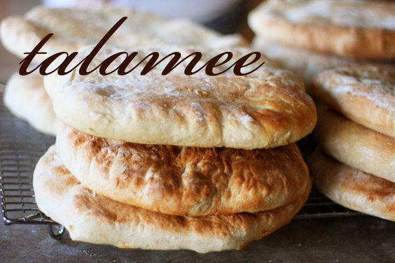 Talamee - Syrian flat bread all my life i have loved syrian bread, why because my whole family has made it and i am part syrian after all can't wait until i have time to make it this summer.
