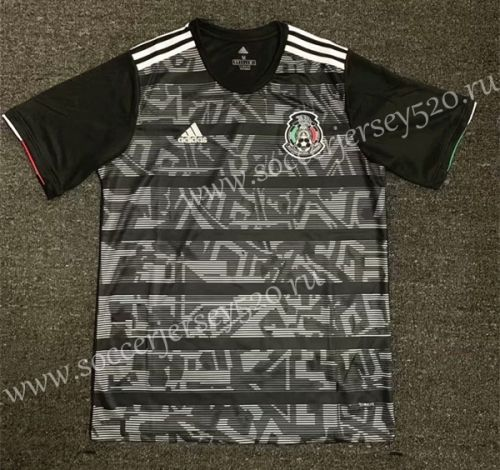 2019 20 Mexico Home Black Thailand Soccer Jersey Aaa 407