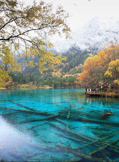 Parque Nacional de Jiuzhaigou, Sichuan, China