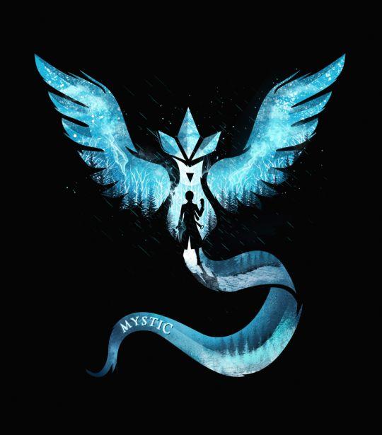 New Fan Art Created by Dan Elijah Farjado   Team Mystic : pokemongo