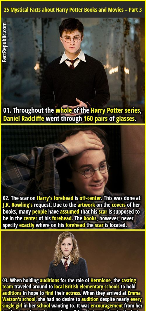 25 Mystical Facts About Harry Potter Books And Movies Part 3 Fact Republic Harry Potter Facts Harry Potter Books Harry Potter Series
