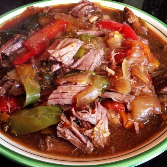 steak recipes cooker fork slow cooker pepper steak food slow cooker ...