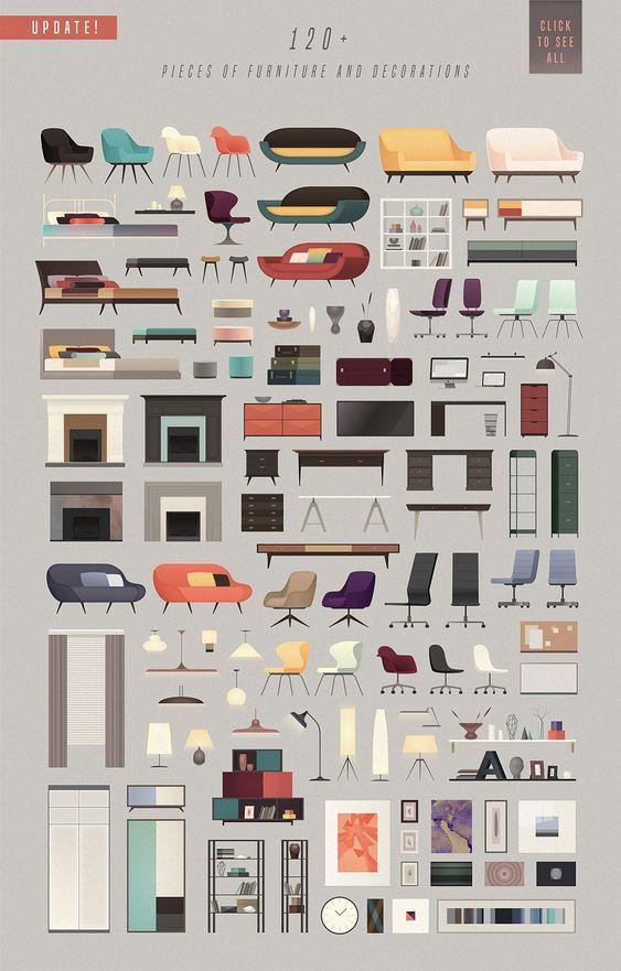 Tricky Scene Creator Architecture Collage Interior Design