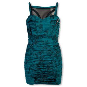 Vestido Carmim Lady Azul - Compre Agora | Dafiti
