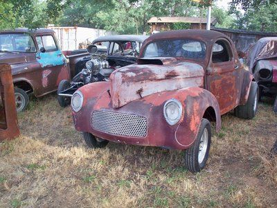 41 Willys Coupe steel body with history For Sale: Abandoned Cars, Nice Rides, Abandoned Classics, Rusty Drag, Rusted Forgotten, Rusty Rides, Rides Rods, Gases