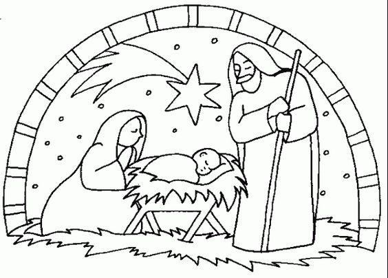 Charmant Weihnachten Religiöse Malvorlagen Ideen - Ideen färben ...