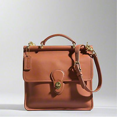 The Coach classic Willis bag. I have the vintage one from ebay and I am still using it. Classic piece.
