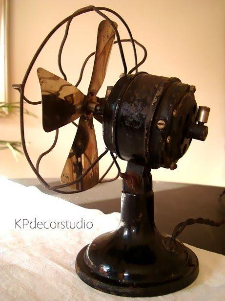 Objetos antiguos venta online buscar con google - Ventiladores decorativos ...