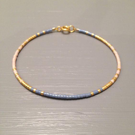 Tiny Delicate Bracelet, Bridesmaid Jewelry, Maid of Honor Gift ,Bridal Bracelet…
