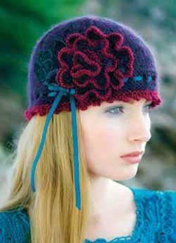 To Brighten Your Day: A Free Knitted Rosette Pattern - Knitting Daily - Knitt...