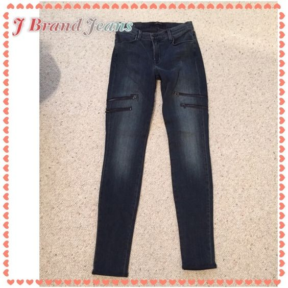 NWT J Brand Jeans NWT J Brand skinny jeans with cool zipper detail J Brand Jeans Skinny