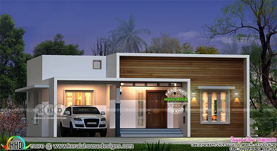 122 Square Yard 3 Bedroom Budget Friendly House In 2020 Architect Design House Small House Design Plans Modern Bungalow House