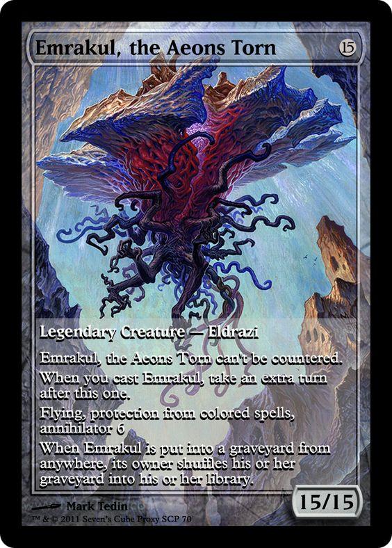 Emrakul, the Aeons Torn | MTG Digital Rendering ...