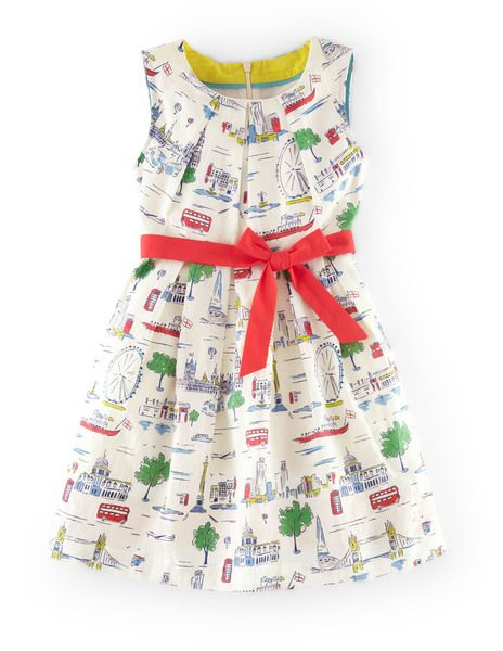 Omg this is absolutely darling vintage print dress for Shop mini boden