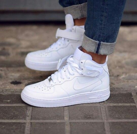 The Nike AF1 Ultra Force Mid Essential Trainers