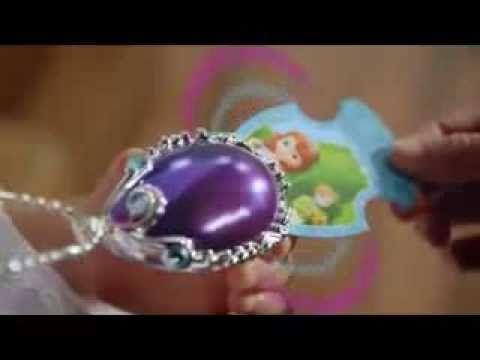 Sofia Magic Amulet - Sofia the First - Disney Princess - Jakks Pacyfic - YouTube
