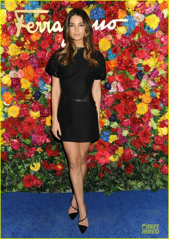 Lily Aldridge: Ferragamo LIcona Launch! | lily alridge ferragamo licona launch 01 - Photo Gallery | Just Jared