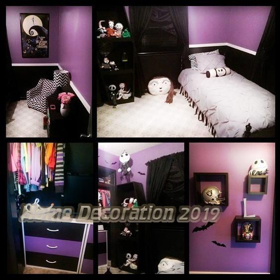13 Nightmare Earlier Than Christmas Kids S Bedrooms Home Decorations Trend 2019 Christmas Decorations Bedroom Kids Room Paint Christmas Bedroom