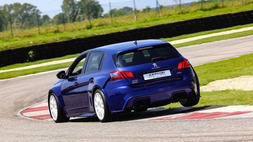 Modified Peugeot 308 Gti Is A Road Going Touring Car 308 Gti