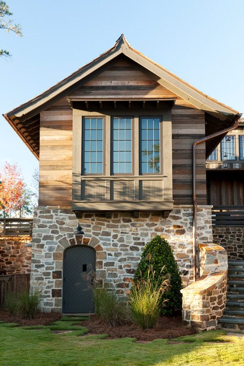 Stone Cottage On The Lake Rustic Houses Exterior House Designs