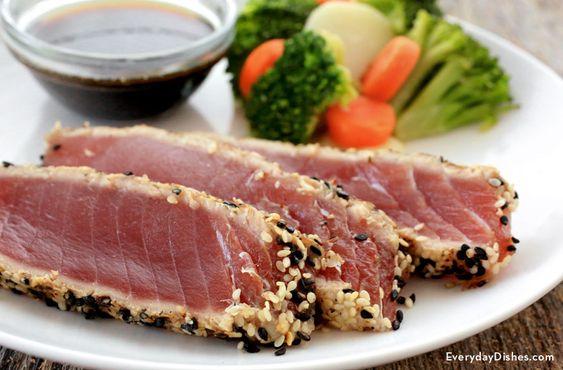 steaks seared tuna tuna steaks tuna steak recipes simple food recipes ...