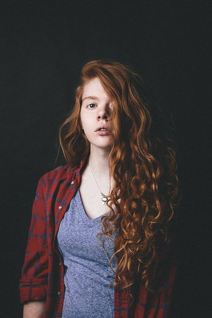 ginger curly hair tumblr - photo #12
