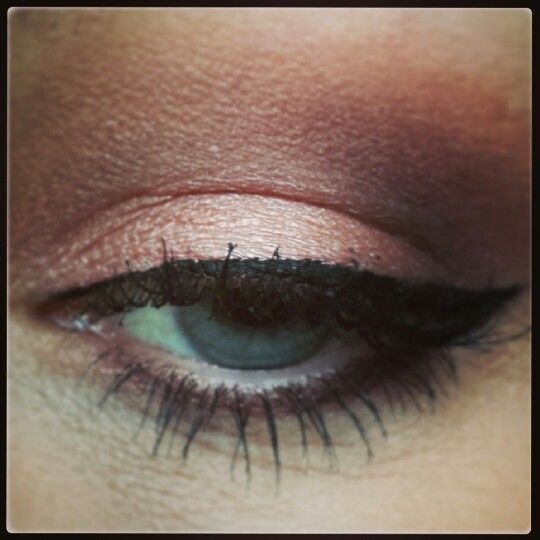 My naked3 palette make up look from Urban Decay