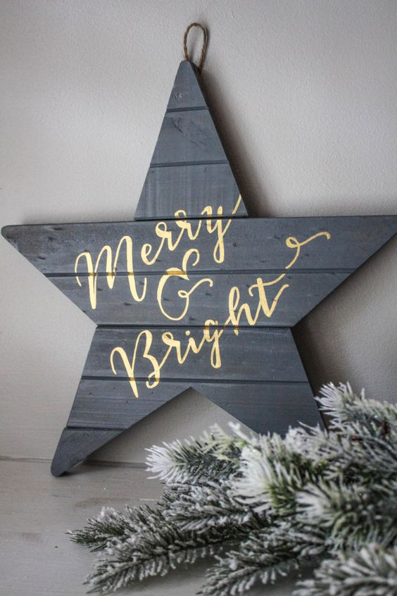 Christmas Wall Decoration Pinterest : Christmas decorations wall art and happy holidays on