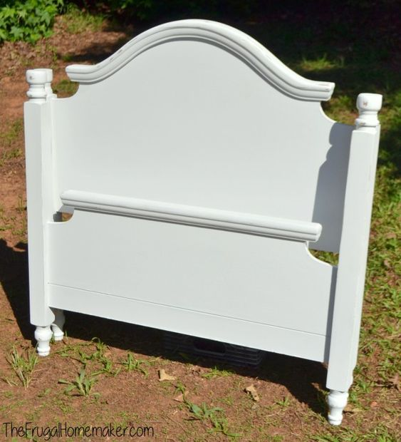 Diy Headboards Paint Colors And Living Room Paint: Twin Headboard Makeover With Rustoleum Chalked Paint