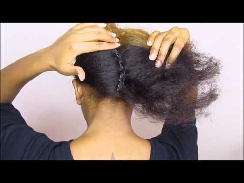 Part2 Of The Fold Tuck Youtube Natural Hair Styles Natural Hair Tutorials Hair Beauty