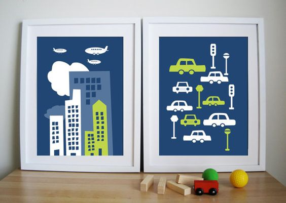 city and cars