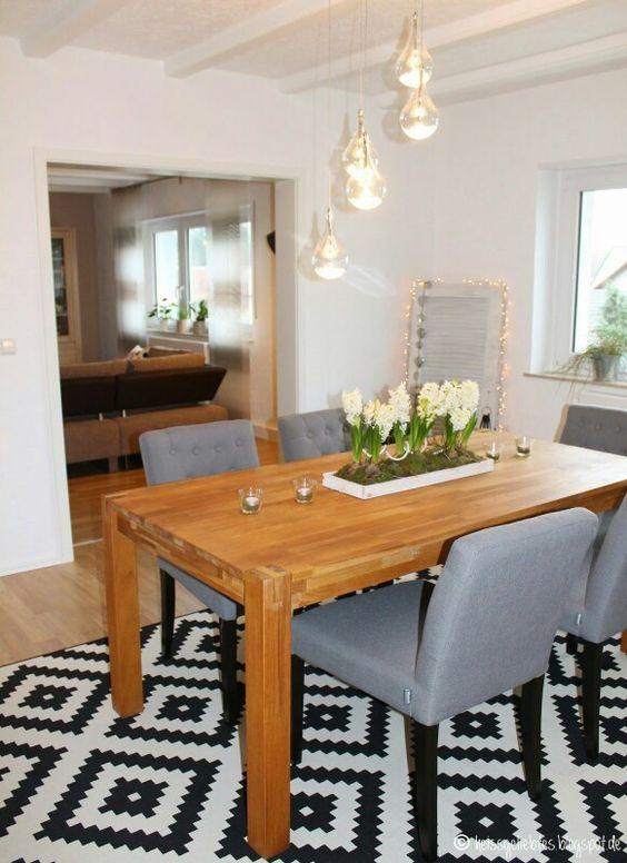 www.heissgeliebtes.blogspot.de Esszimmer * Interior * Dining room ...