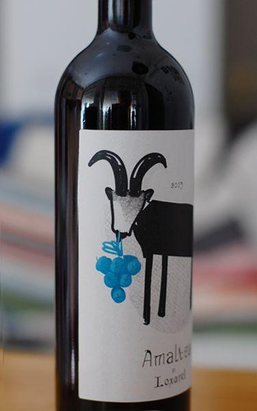 amaltea wine : Elena Hormiga - Illustration