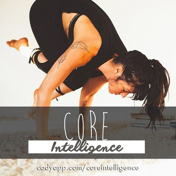 We're super excited to announce a new plan by @meghancurrieyoga - Core Intelligence!  codyapp.com/coreintelligence (link in bio)  This is a super special series that focuses on not only building core strength but helping you listen to the intelligence of your core and harness it's strength.The outcome ismore fluidity and balance in your transitions andflows making it feel so gooooood to practice.  Each of the five 25-minute classes has a different sequence, all building offof one…