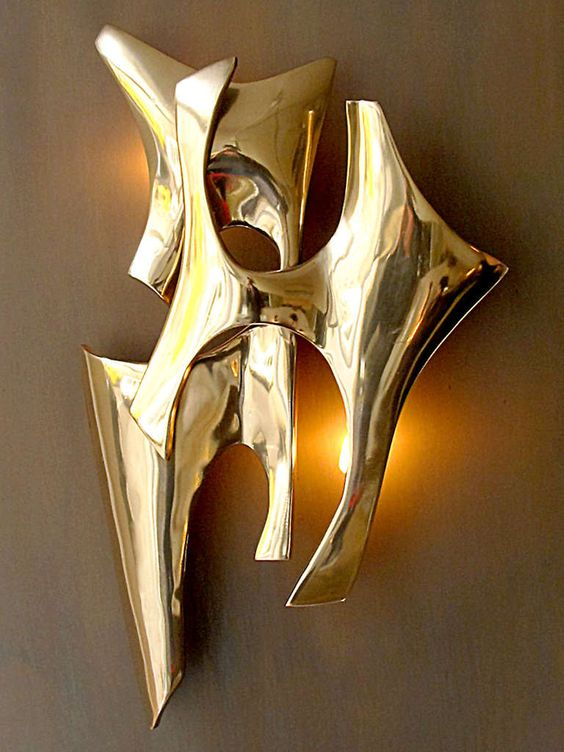 Signed Wall Light by Fred Brouard Wall Lights, Lights and Wall Lamps