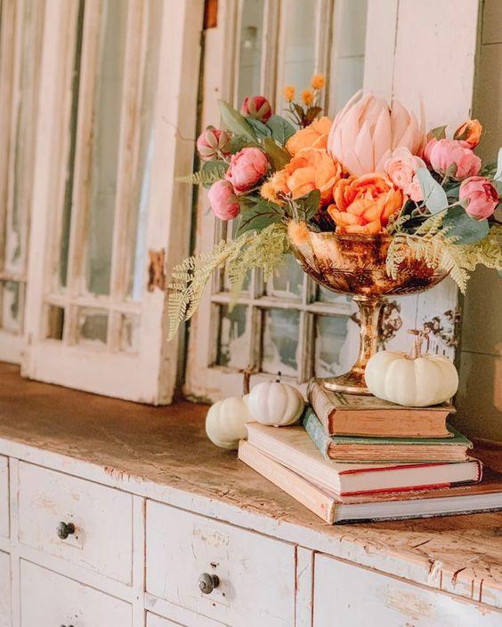 A Simple Thanksgiving Home Tour! - Cotton Stem
