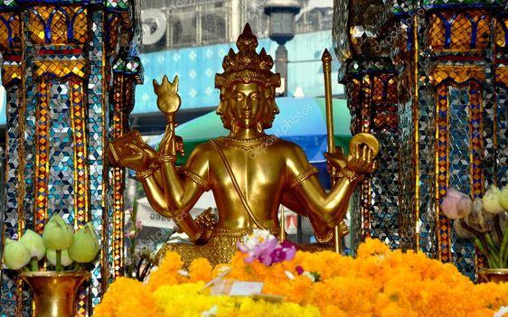 [Chia sẻ] Du lịch Đền Erawan, Bangkok, Thái Lan