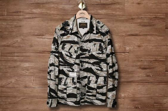 Nudebones Harringcon Twilled Tiger Camoflage Jackets. this thing is super dope