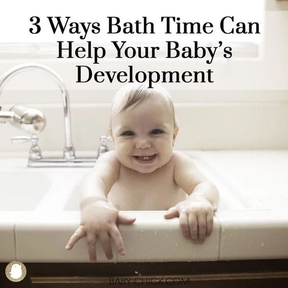 3 Ways Bath Time Can Help Your Baby S Development Baby Development Baby Supplies Baby Care