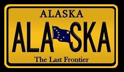 Alaska - Vereinigte Staaten von Amerika / United States of America / USA