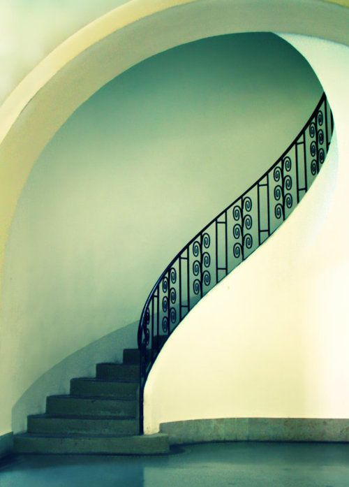 stairs ~ 'soft shapes' by caruba