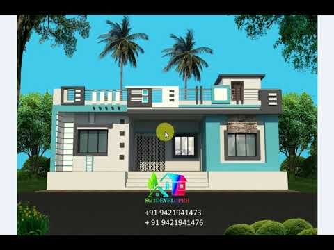 Indian Style House Design New Indian House Design 2020 Latest Home Design Indian St Latest House Designs Small House Front Design Single Floor House Design House front design indian style one floor