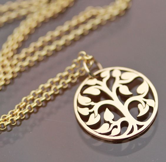 Tree of Life Necklace by SimplisticaDesign on Etsy