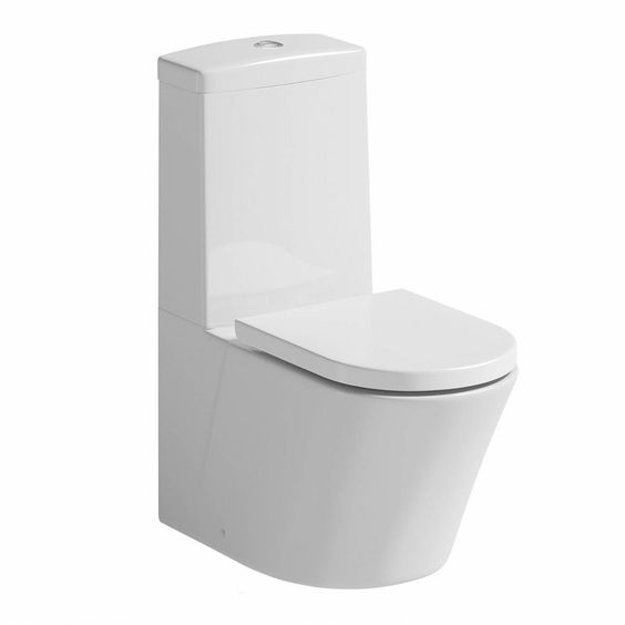 The Arc close coupled toilet is an ultra chic and stunning design. The beautifully formed full bodied shape and smooth lines makes the Arc bathroom suite an exclusive designer range. Crafted from high quality white vitreous china and complete with a soft closing seat the Arc bathroom suite will create a prominent and intense look in your new Victoria Plumb bathroom.