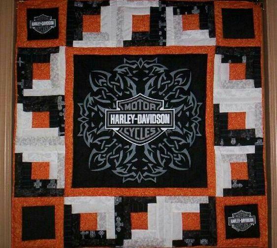 Harley Davidson Quilt