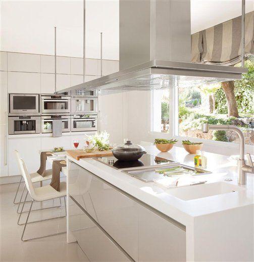 14 cocinas con isla, 14 cocinas muy prácticas · ElMueble.com · Cocinas y baños: